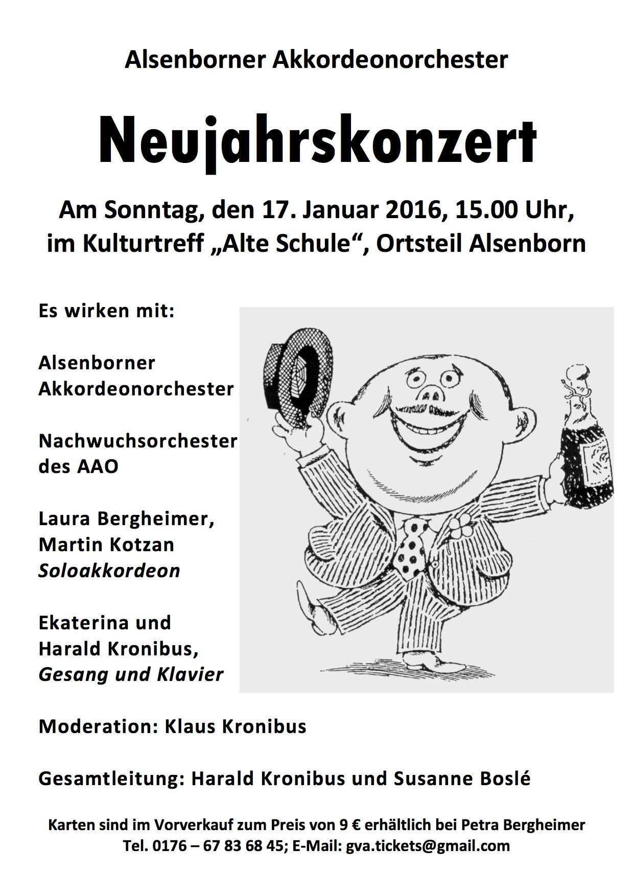 gesangverein alsenborn e. v., Einladung