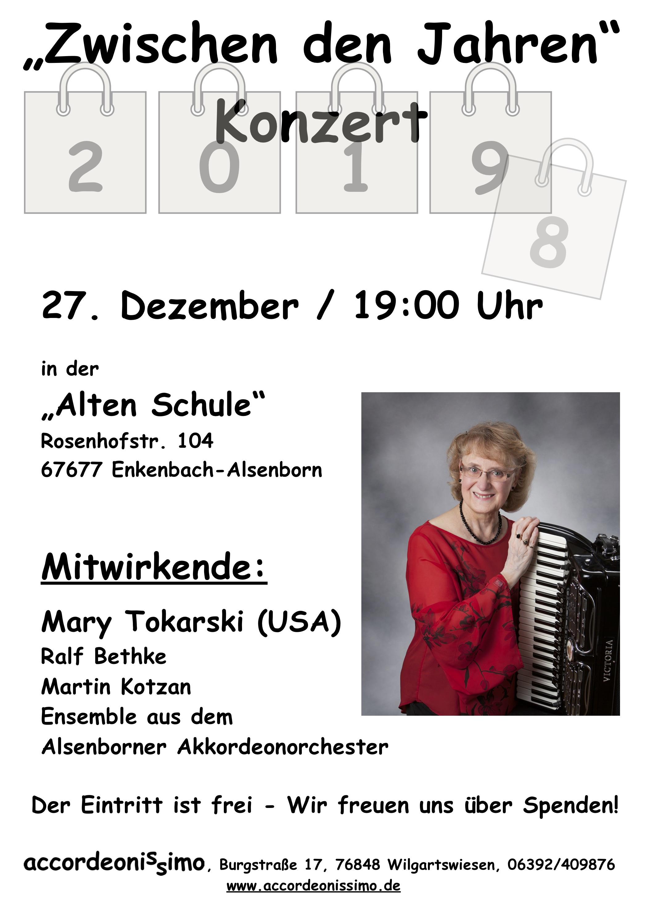 Plakat Mary Tokarski
